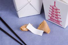 Takeout Fortune Stock Photography
