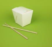 takeout kinesisk mat Royaltyfri Bild