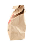 Takeout paper bag Royalty Free Stock Images