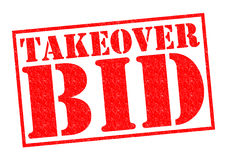 TAKEOVER BID Stock Photos