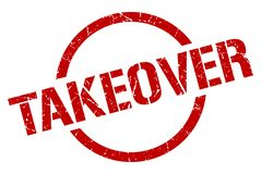 takeover stamp royalty free stock photo