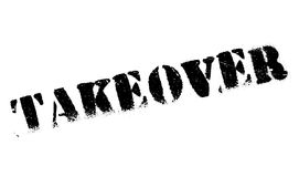 Takeover rubber stamp Royalty Free Stock Photo