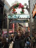 Takeshita gata Fotografering för Bildbyråer