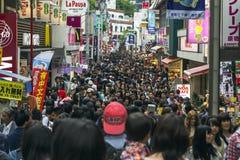 Takeshita gata i Tokyo, Japan Royaltyfria Foton