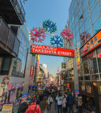 Takeshita Street in Harajuku Stock Photography