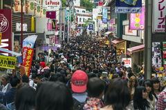 Takeshita ulica w Tokio, Japonia Zdjęcia Royalty Free