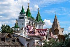 Taket av Kreml, Moskva, Ryssland royaltyfri foto