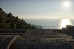 Taket av mausoleet av Ciano Arkivfoto