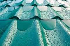 Taket av metall Arkivbilder