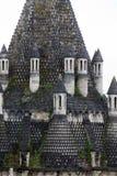 Taket av romanesquekök - Fontevraud abbotskloster Royaltyfri Foto