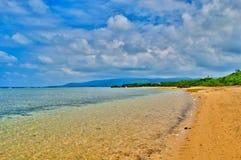 Taketomi wyspy plaża w Japonia Zdjęcie Royalty Free