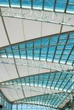 Takfönster av en galleria arkivbild