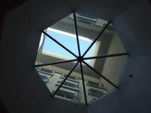 Takfönsterbegreppet är en stor design Arkivbilder