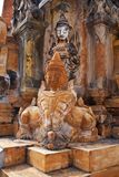 Takhaung Mwetaw Pagoda In Shan State, Myanmar Royalty Free Stock Photography