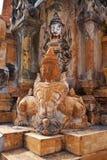 Takhaung Mwetaw pagoda w shanu stanie, Myanmar Fotografia Royalty Free