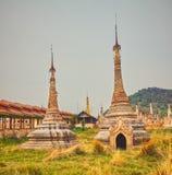 Takhaung Mwetaw Paya in Sankar. Myanmar. Stock Images