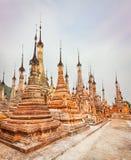Takhaung Mwetaw Paya in Sankar. Myanmar. Panorama Royalty Free Stock Image