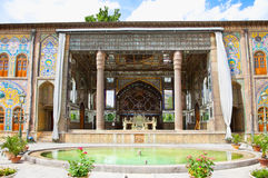 Takht-e Marmar in Golestan palace, Tehran Stock Images
