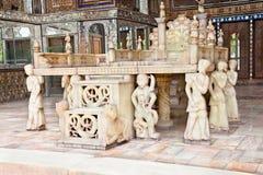 Takht-e Marmar, Golestan palace, Tehran, Iran Royalty Free Stock Images