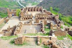 Takht-i-Bahi foto de archivo