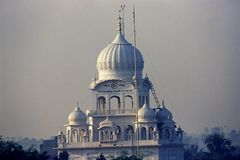 Takht Sri Patna Sahib, Gurudwar på Patna, Bihar Indien Royaltyfri Bild