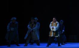 €œTaking τίγρη Montain οπερών χορός-Πεκίνου χεριών τριψίματος από Strategy† Στοκ Φωτογραφίες