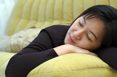 Free Taking A Nap Royalty Free Stock Photos - 2696098
