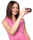 Taking A Picture Stock Image