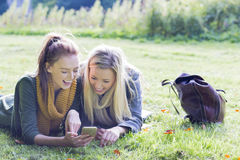 Taking a break outdoors Stock Photography