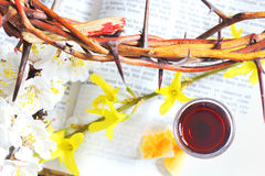 Taking Communion Royalty Free Stock Photography