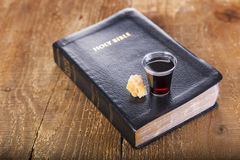 Taking Communion Stock Photos
