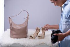 Taking fashion shot Royalty Free Stock Photos