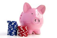 Taking a gamble Royalty Free Stock Image