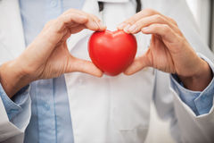 Taking good care of your heart. Royalty Free Stock Image