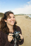 Taking Holiday Pictures Stock Photography