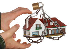 Taking a house Stock Images