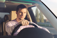 Taking a long drive Royalty Free Stock Photography