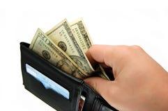 Taking Money Royalty Free Stock Images