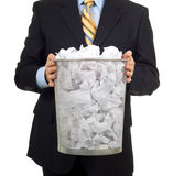 Taking out the Trash Stock Photography