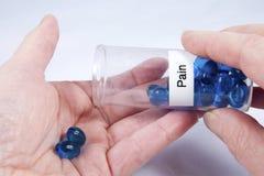 Taking Pain Pills Royalty Free Stock Image