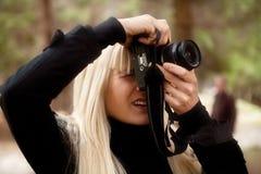Taking photo Stock Image