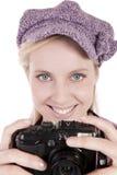 Taking a photo Royalty Free Stock Photos