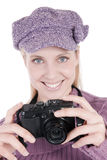 Taking a photo Stock Image