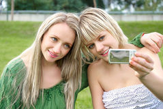 Taking a photo Royalty Free Stock Photography