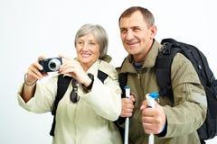 Taking photo Royalty Free Stock Photography
