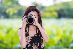 Taking photo Royalty Free Stock Photo