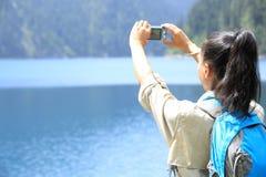 Taking photo Stock Photography