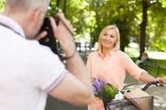 Taking photos Royalty Free Stock Photo