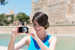 Taking picture Royalty Free Stock Photography