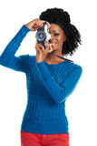 Taking a picture Royalty Free Stock Image